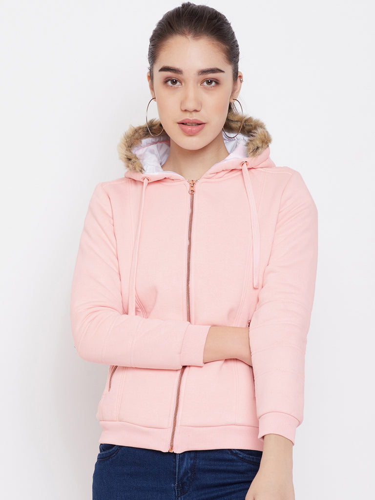 Mettle apparel dusty pink sweat shirt for women