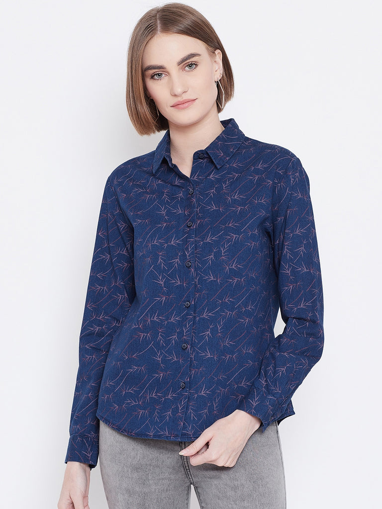 Ocatve Apparel Indigo tee for Women