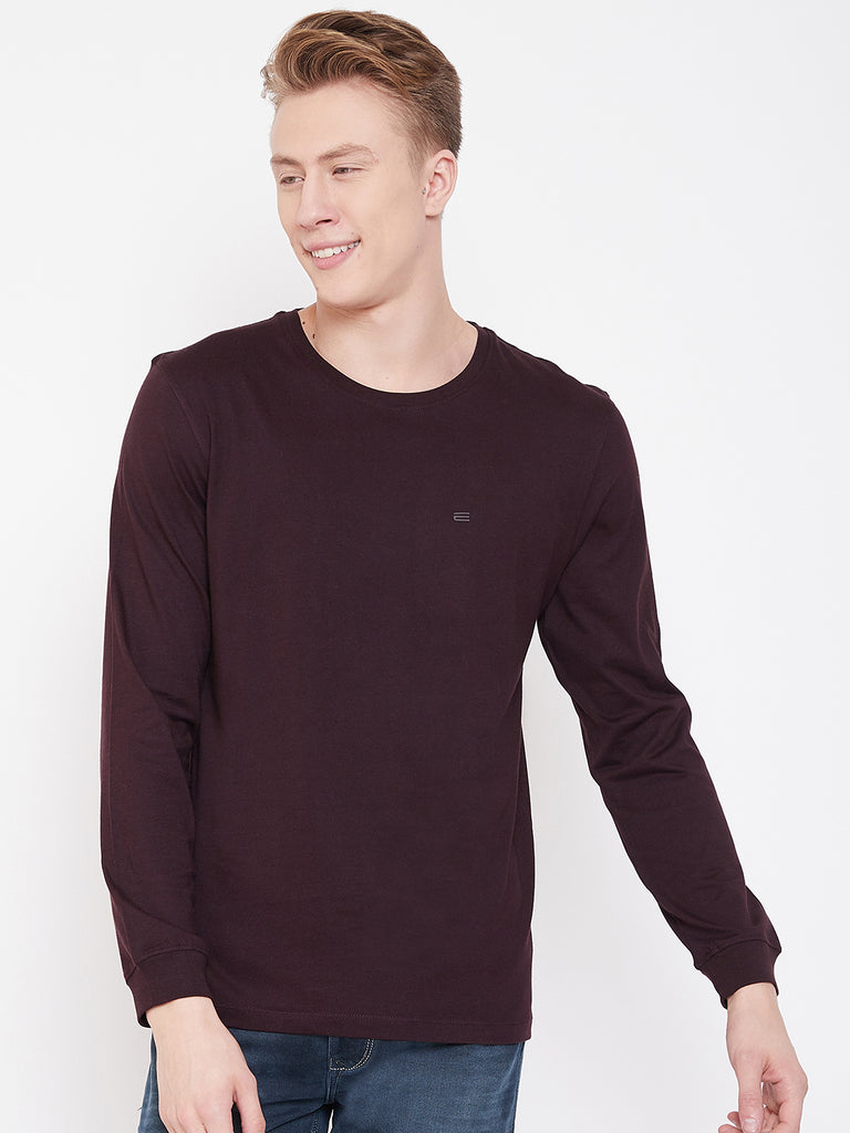 Octave Wine T-Shirt for Men