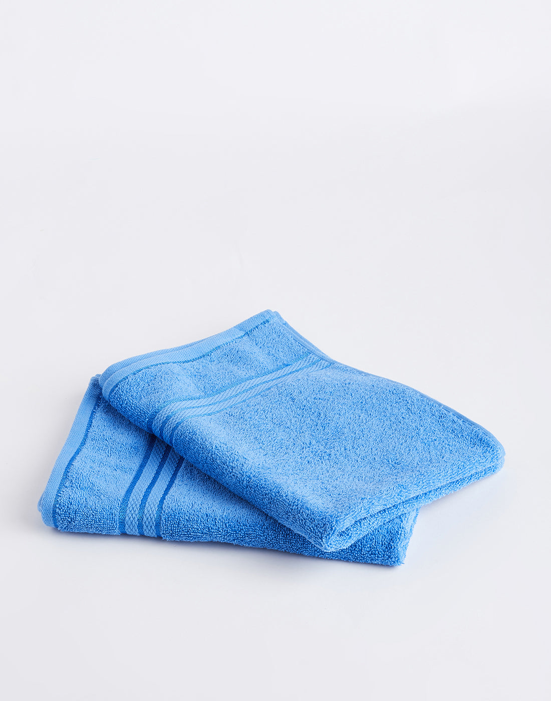 Octave Royal Blue Set of 2 Cotton Hand Towels