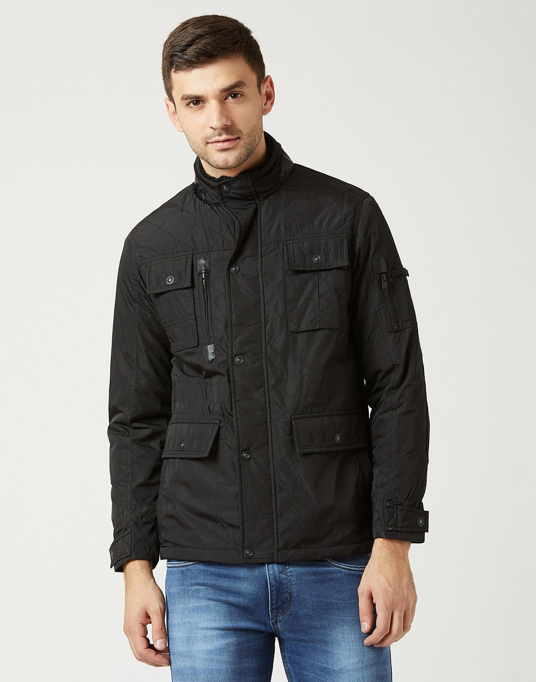 Mettle Men Black Jacket
