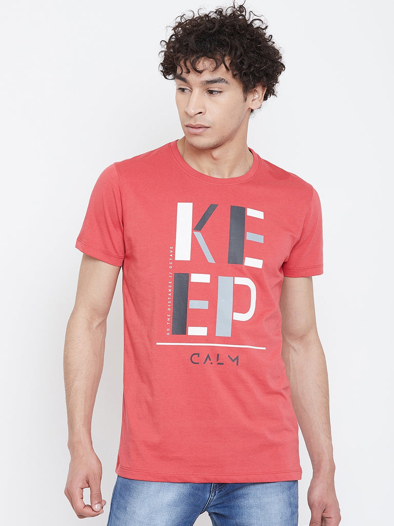 Octave Apparels carrot t-shirt for Men