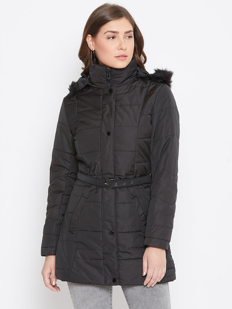 Mettle Black Jacket for Women