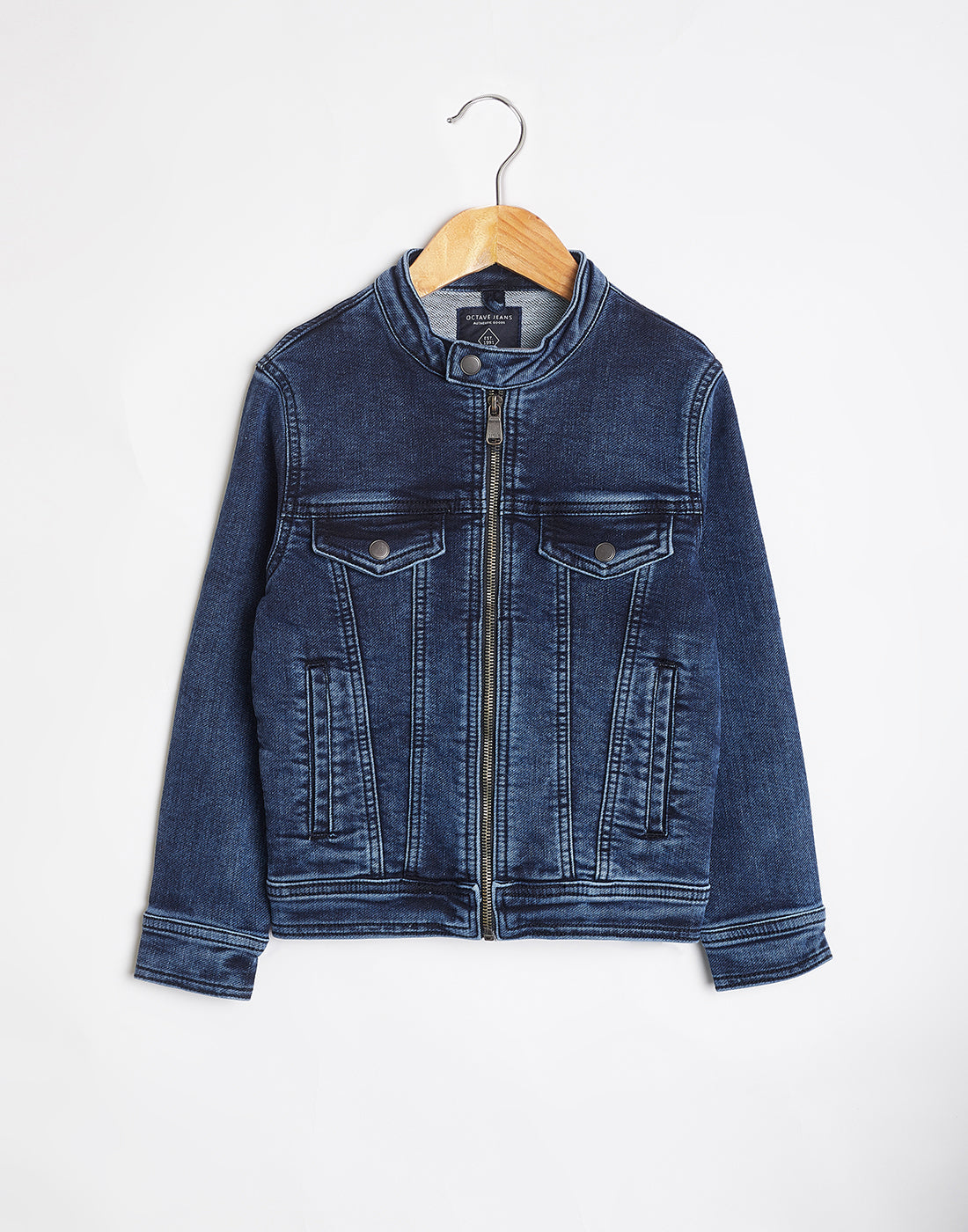 Octave Boys Denim Blue Jacket