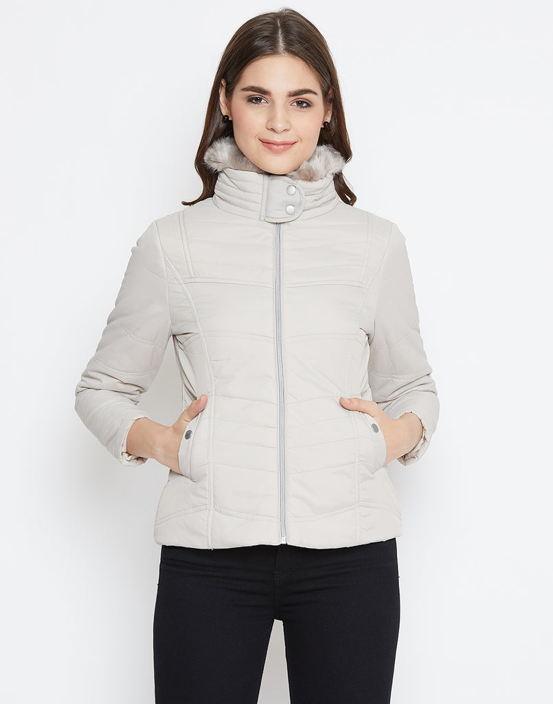 Mettle Stone Quilted Jacket for Women