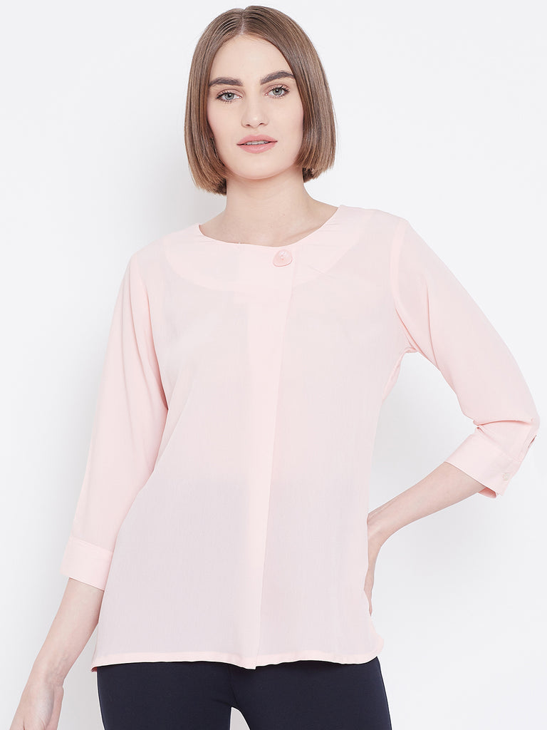 Mettle Apparel Pink Top for Women