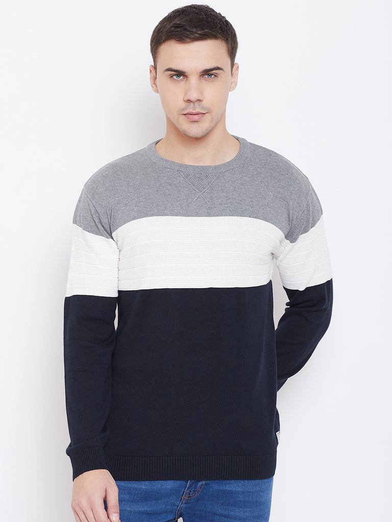 Multi Colour Sweater for men By Mettle Apparels