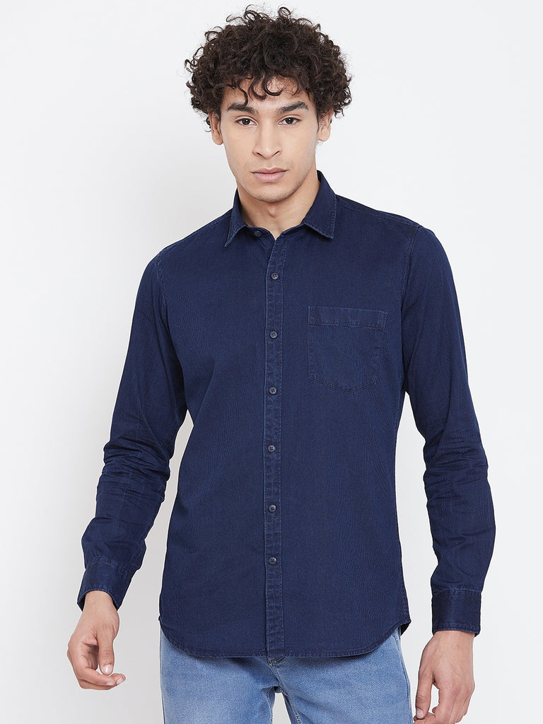 Octave Apparels Denim Shirt for Men