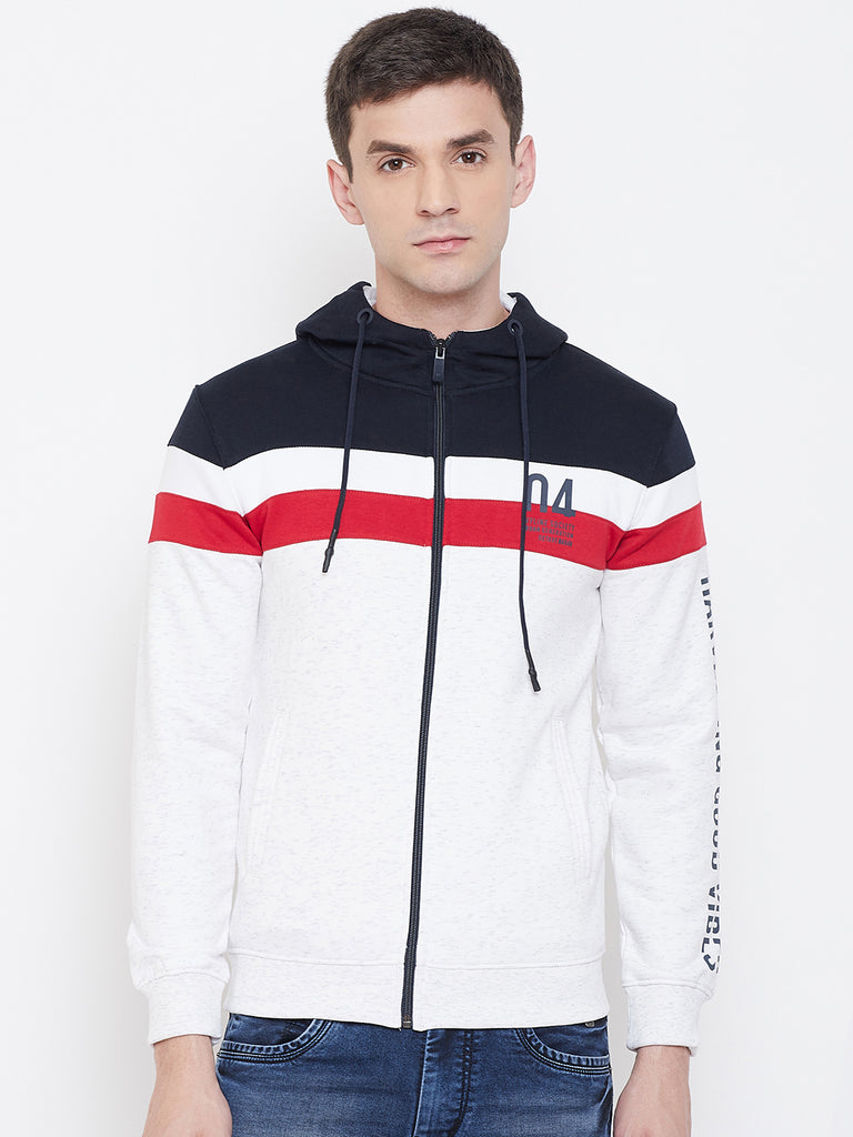 Octave apparels Tri-Colour Sweat-Shirt for men