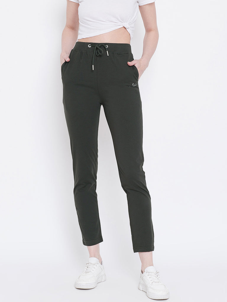 Mettle Apparels Dark Olive colored Jeans for Women