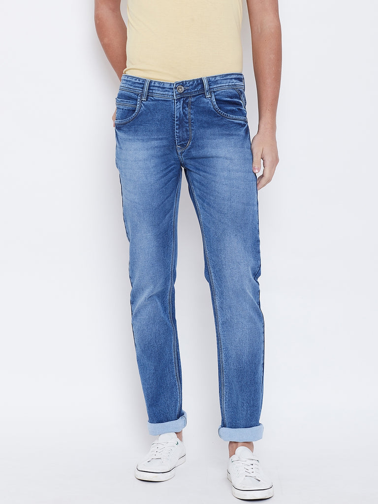 Octave Apparels Blue Shadow Denim for Men