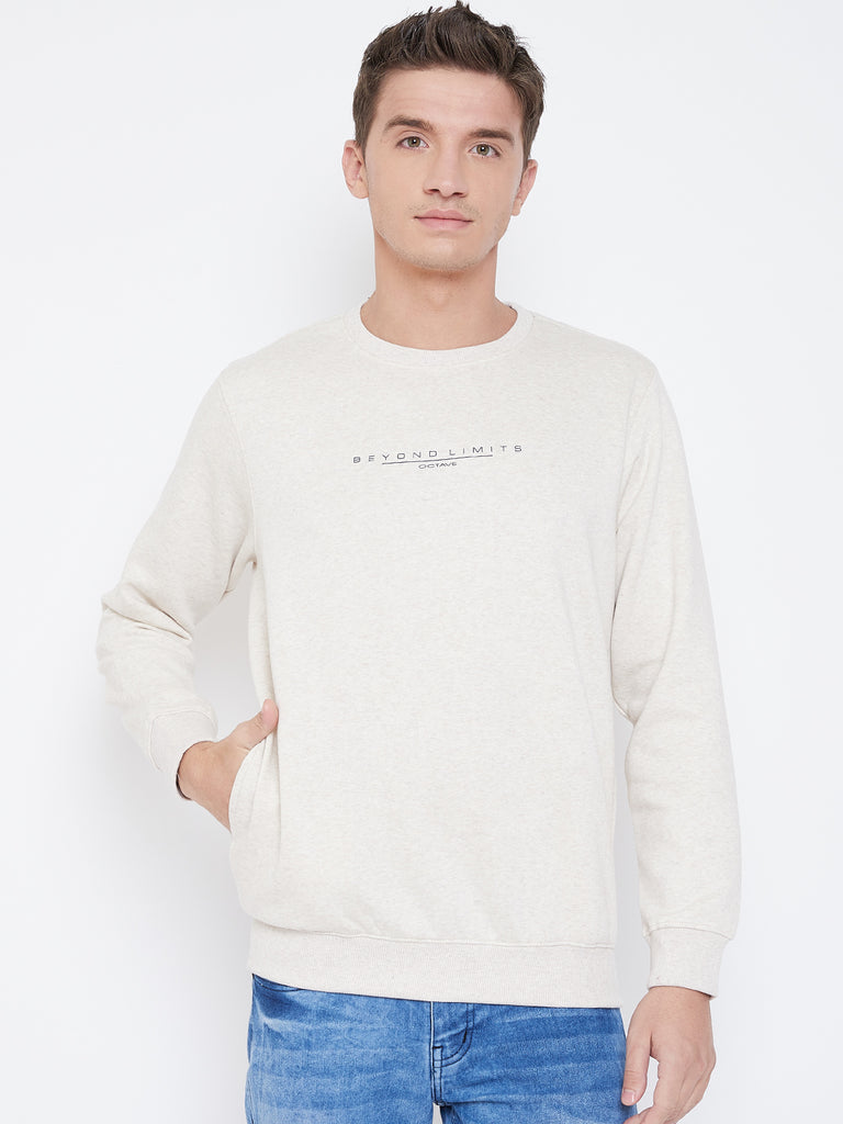 Octave Apparels Naural Sweatshirt for Men