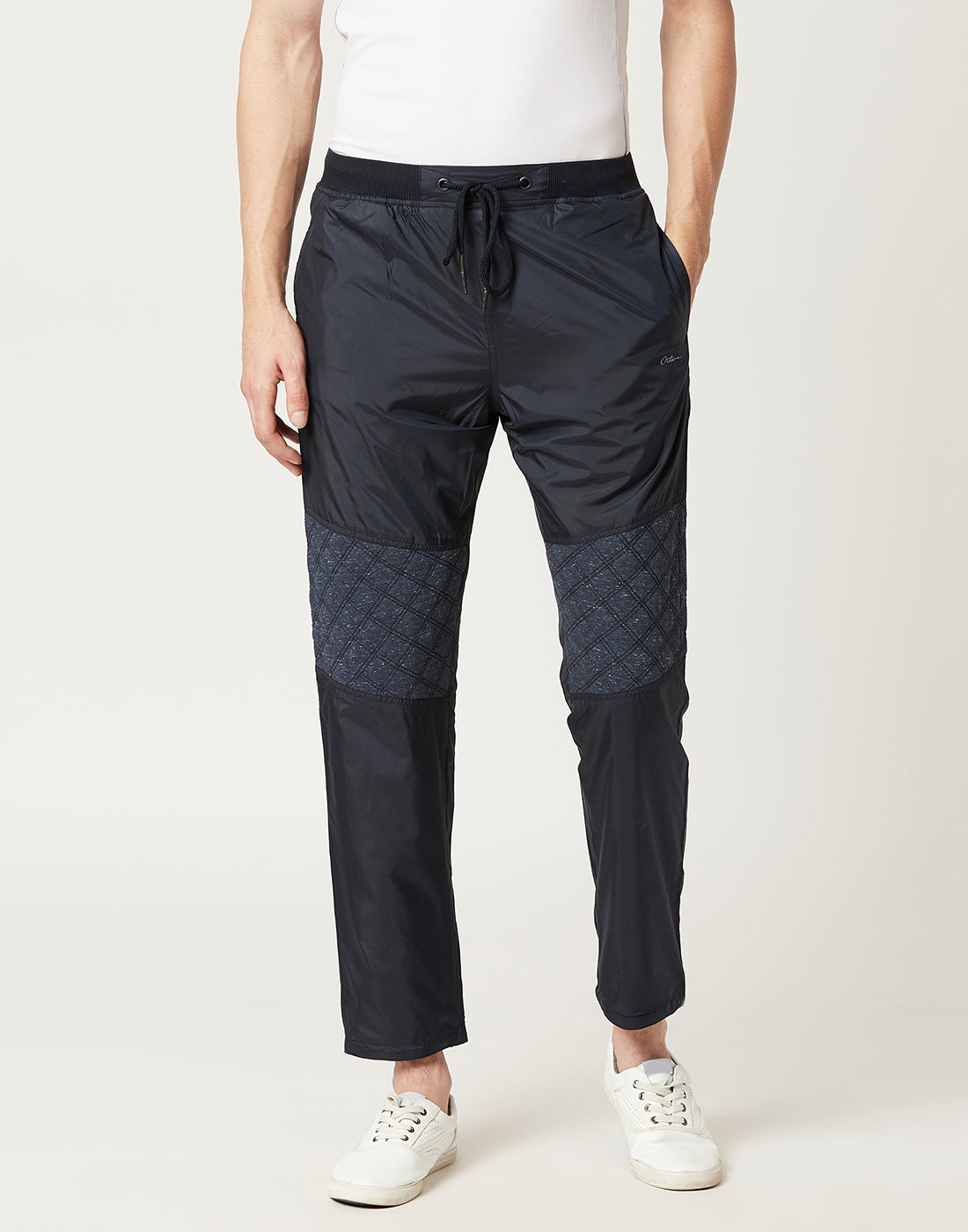 Octave Men Navy Reversible Trackpants