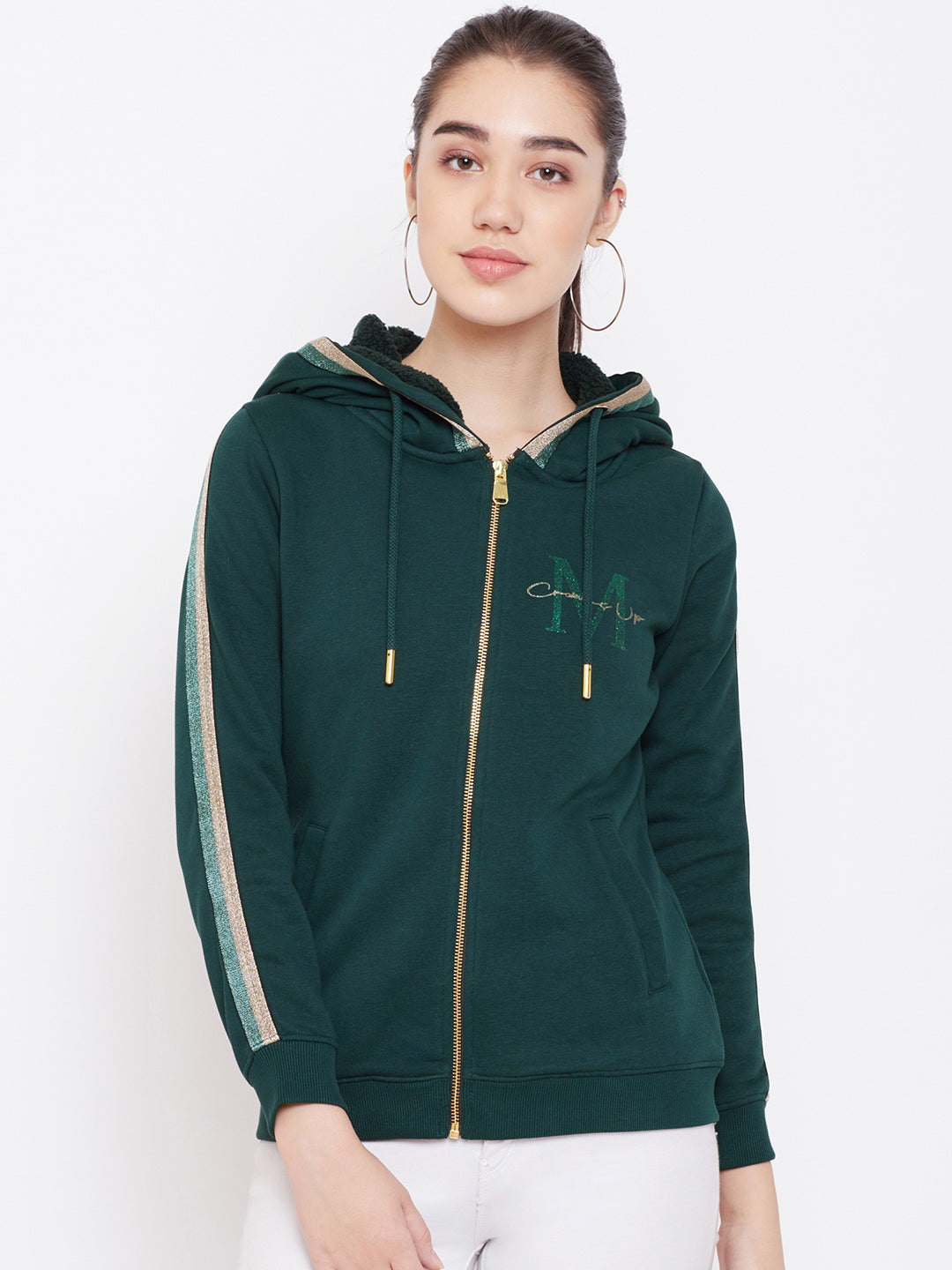 Mountain Green sweat shirt from Mettle Apparels