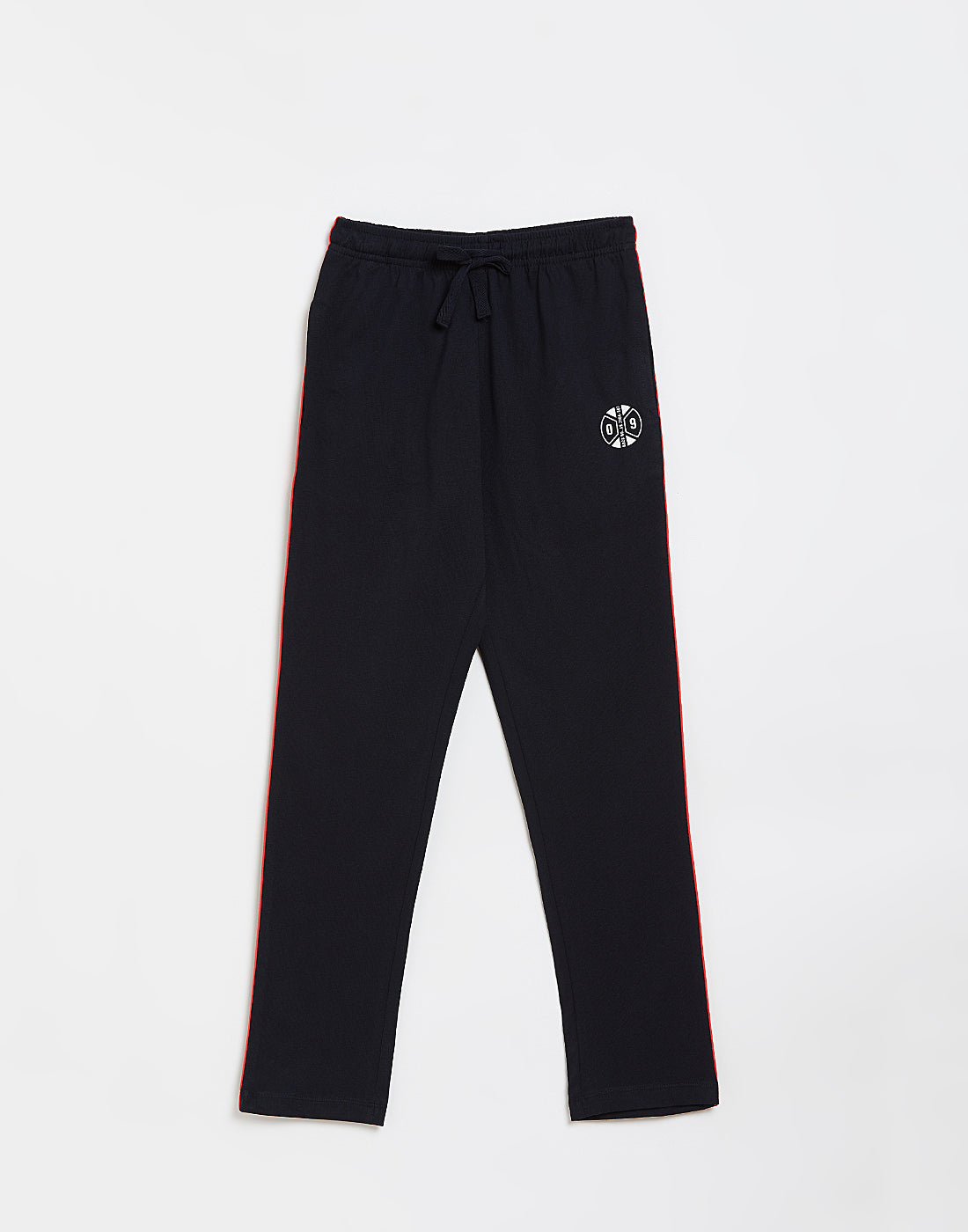 Octave Boys Navy Printed Trackpants