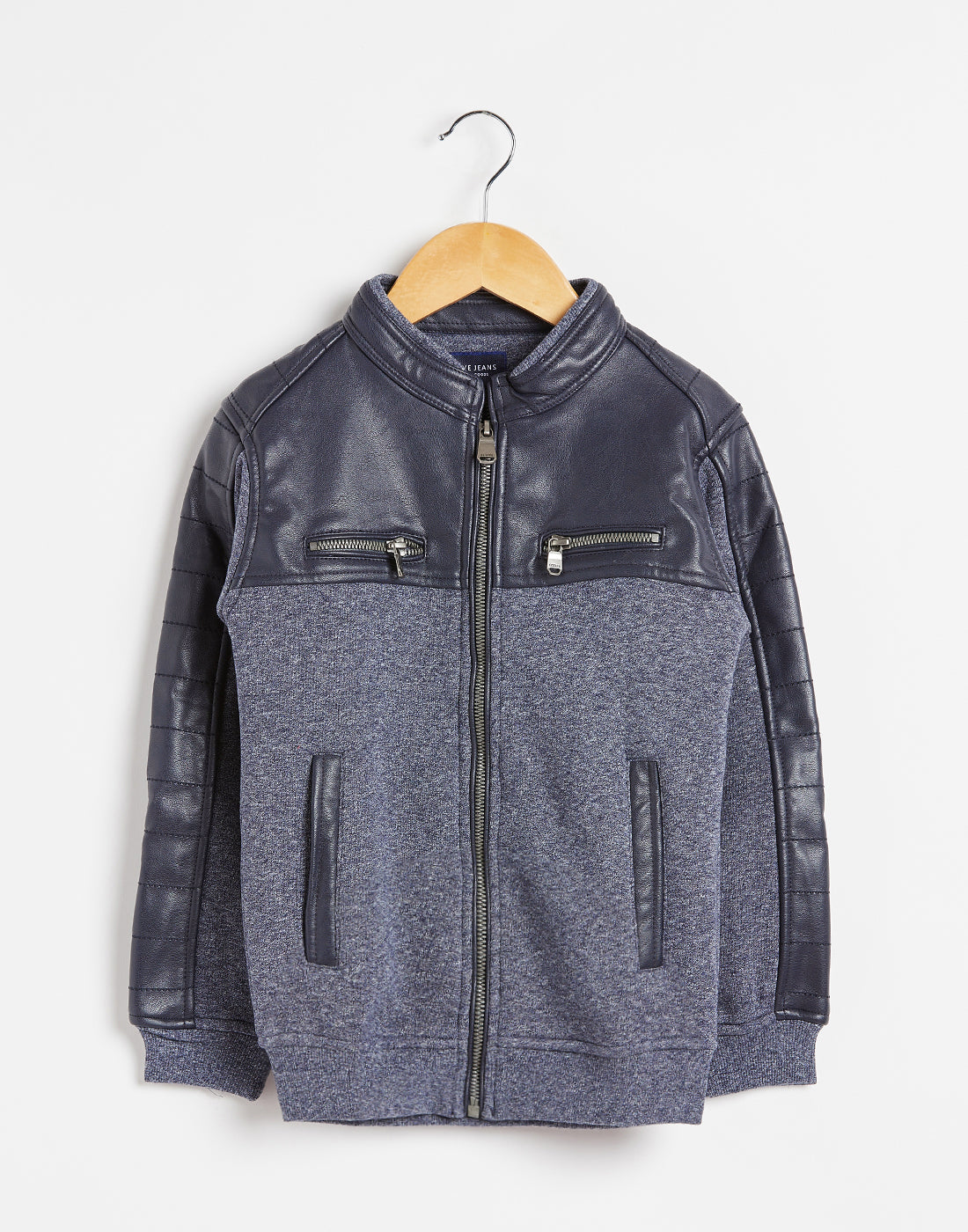 Octave Boys Midnight Grey Jacket
