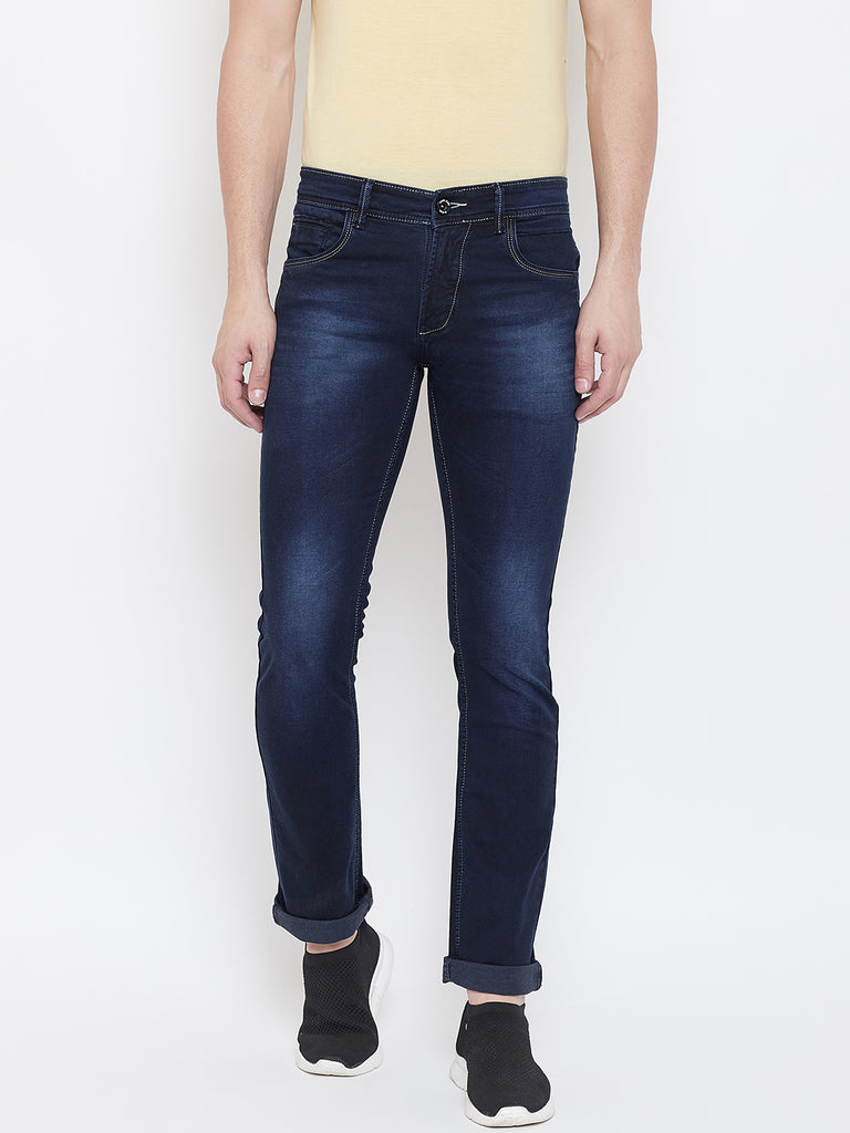 Octave Apparels Carbon Blue bottom for men
