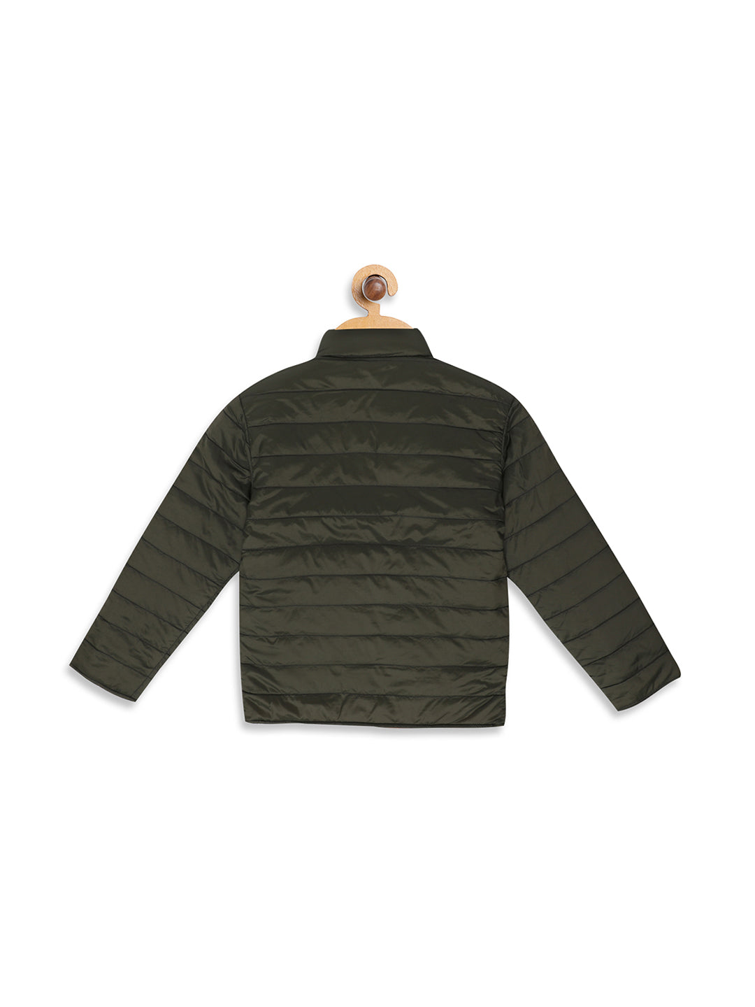 Octave Apparels Olive Yellow Reversible Sweatshirt for Kids