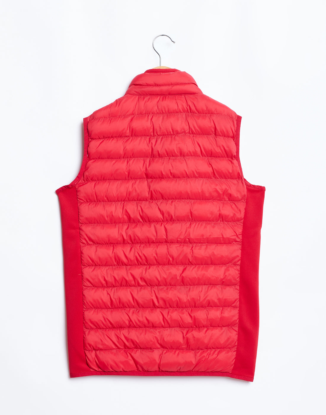 Octave Boys Red Sleeveless Puffer Jacket