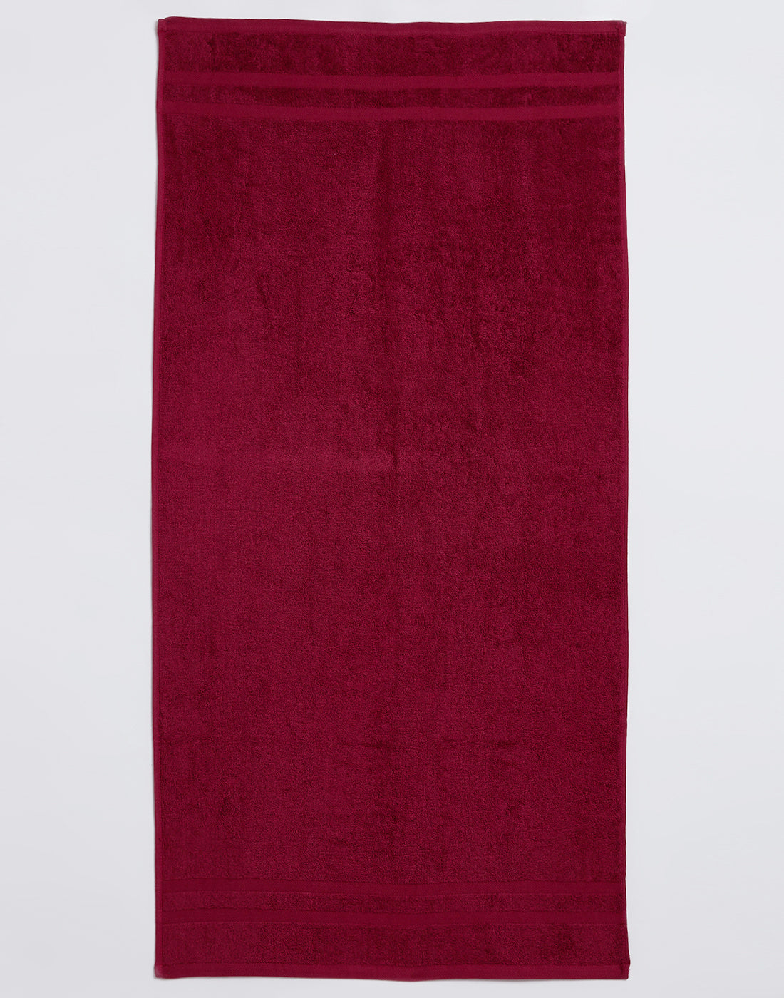 Octave Salsa Red Cotton Bath Towels