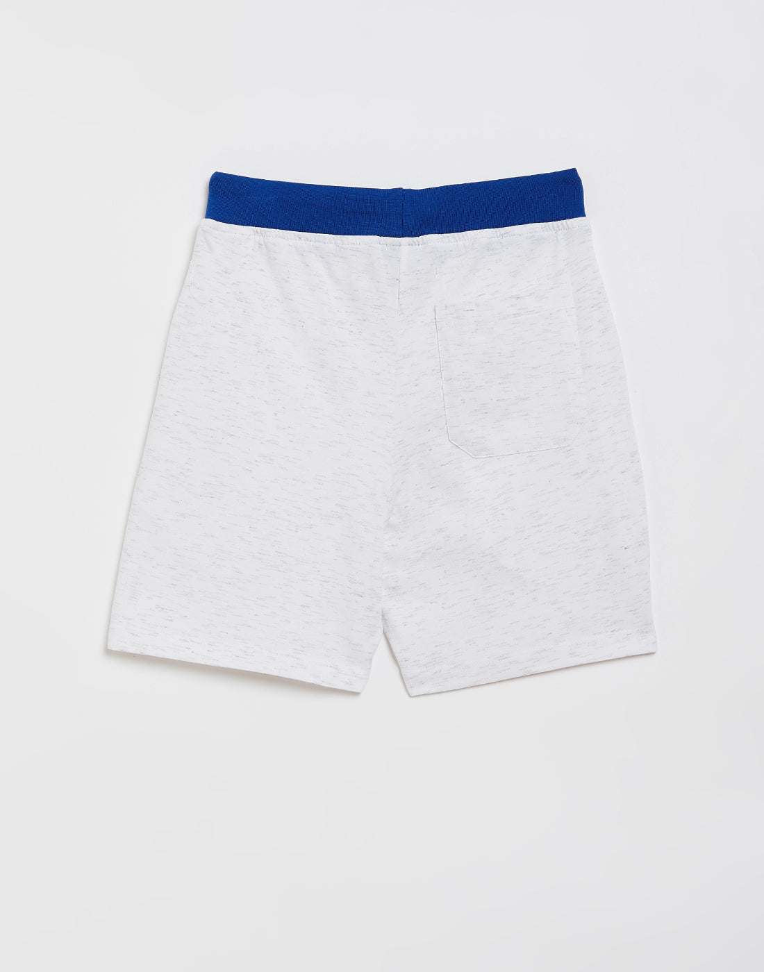 Octave Boys White Avengers Printed Shorts