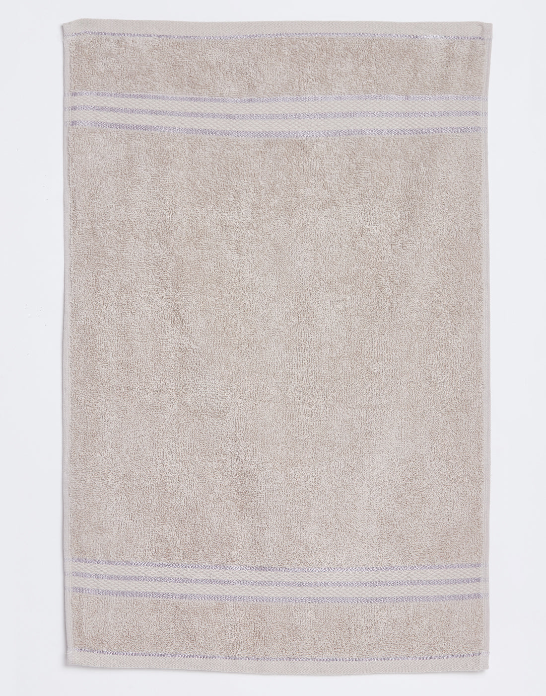 Octave Beige Set of 2 Cotton Hand Towels