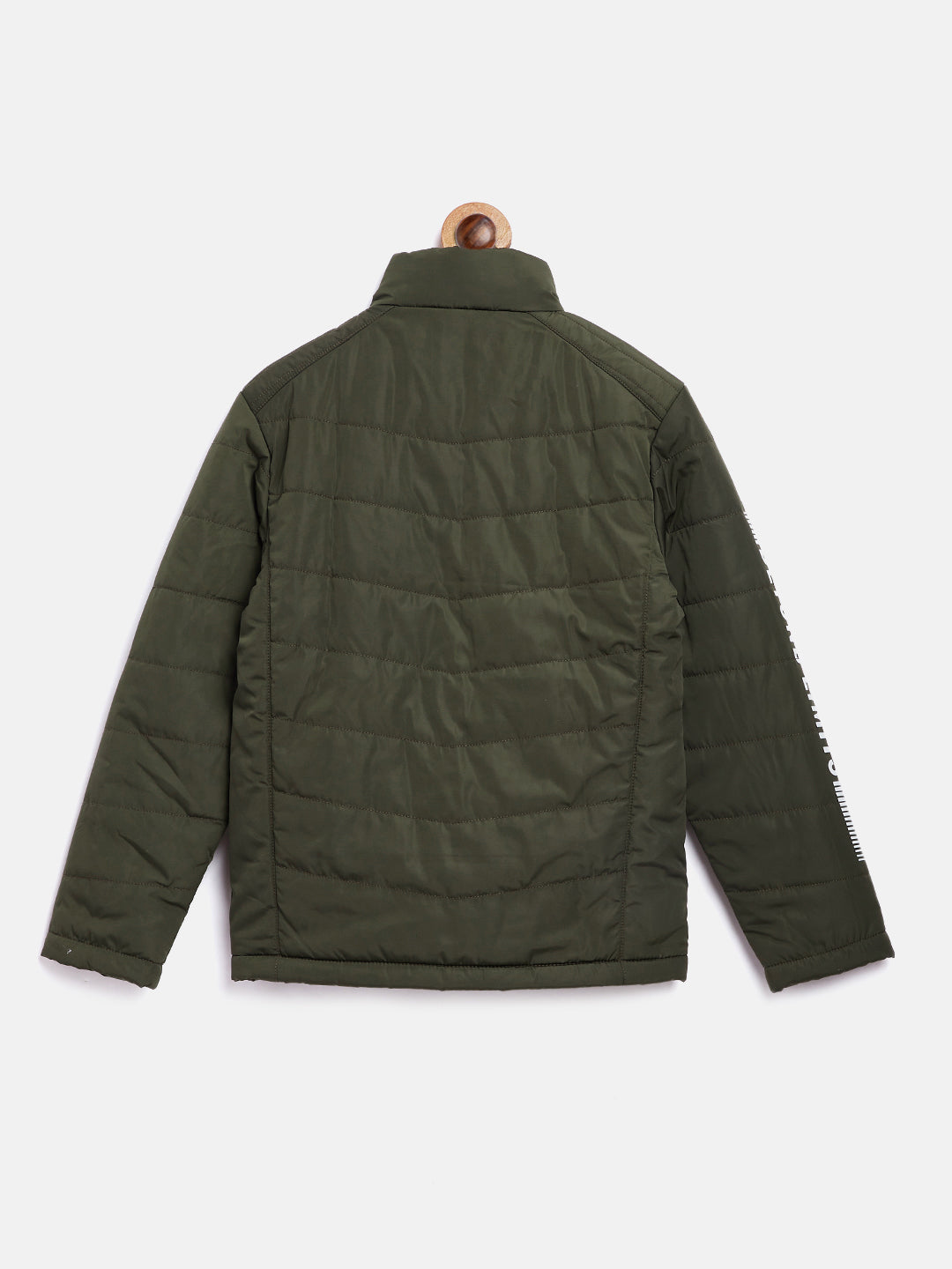 Octave Apparels Olive Jacket for Kids