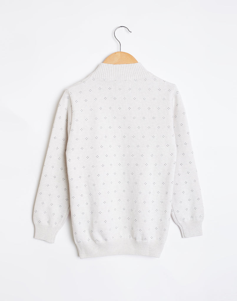 Octave Boys Cloud Melange Sweater