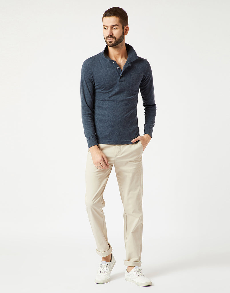 Octave Men Natural Chino Trousers