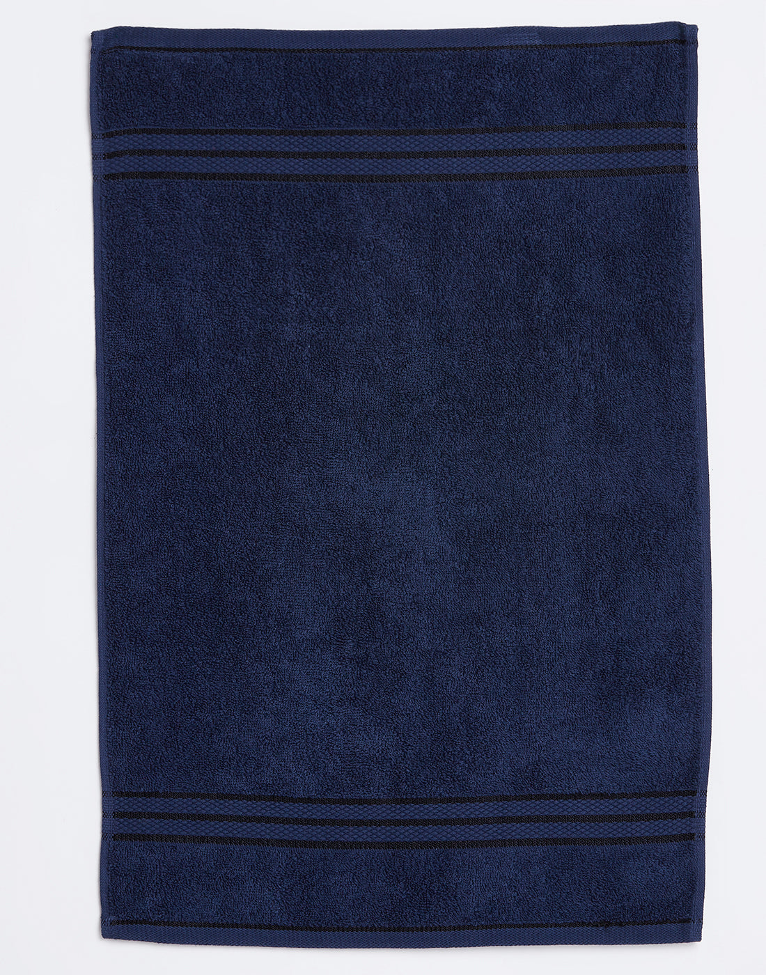 Octave Navy Set of 2 Cotton Hand Towels