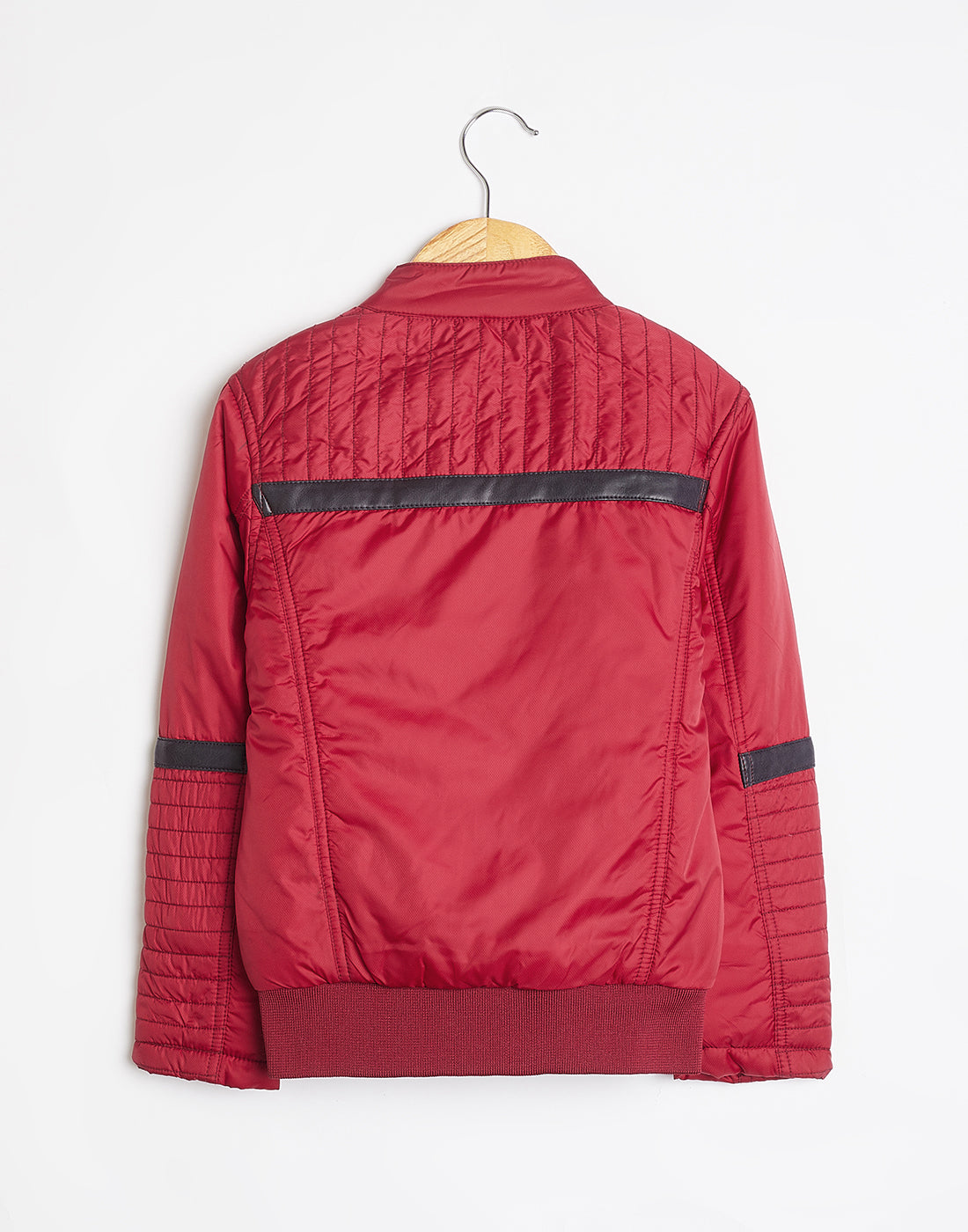 Octave Boys Red Biker Jacket