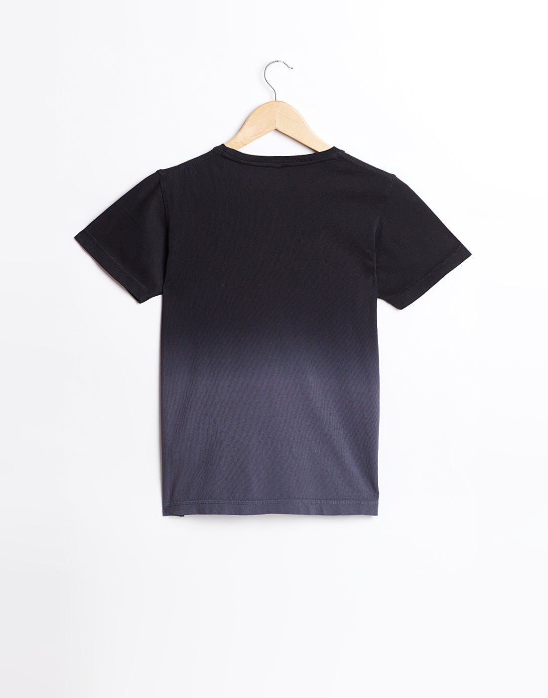 Octave Boys Black Mickey Print T-shirt