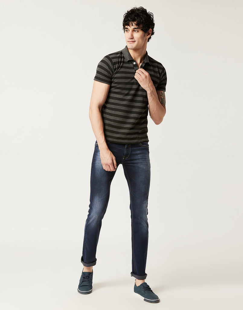 Octave Men Sulphur Grey Jeans
