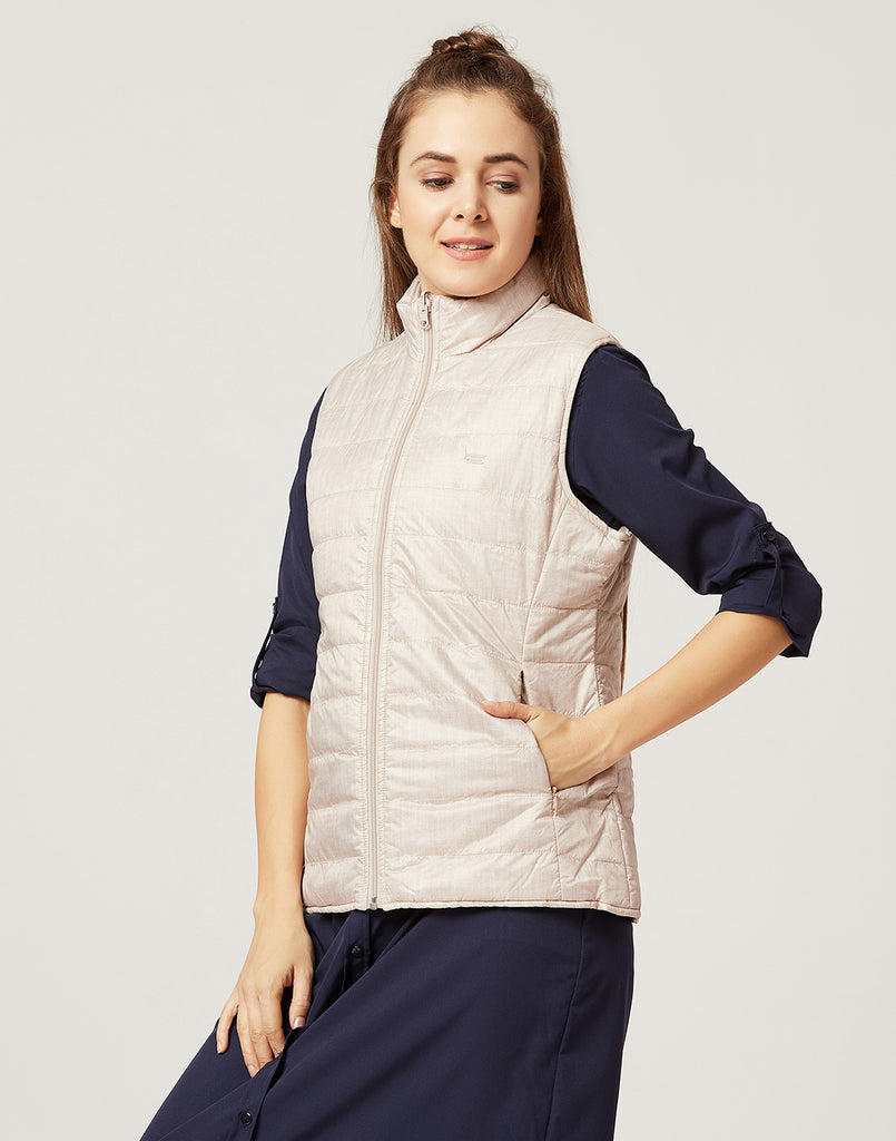 Mettle Women Champagne Coloured Jacket