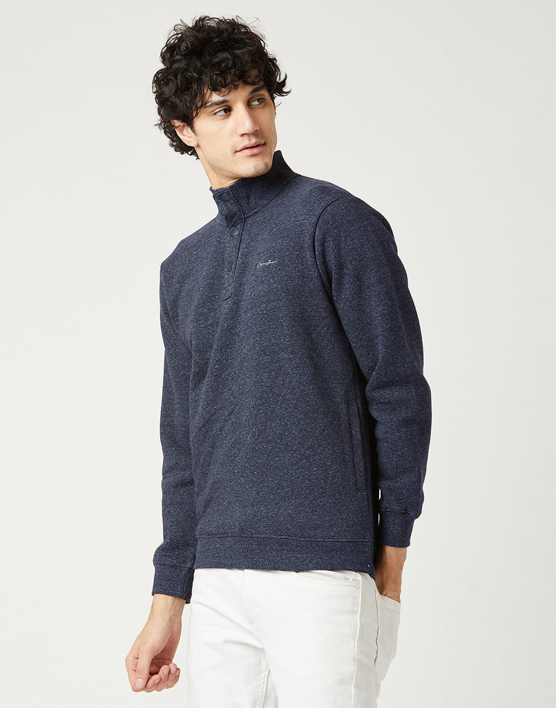 Octave Men Midnight Grey Sweatshirt