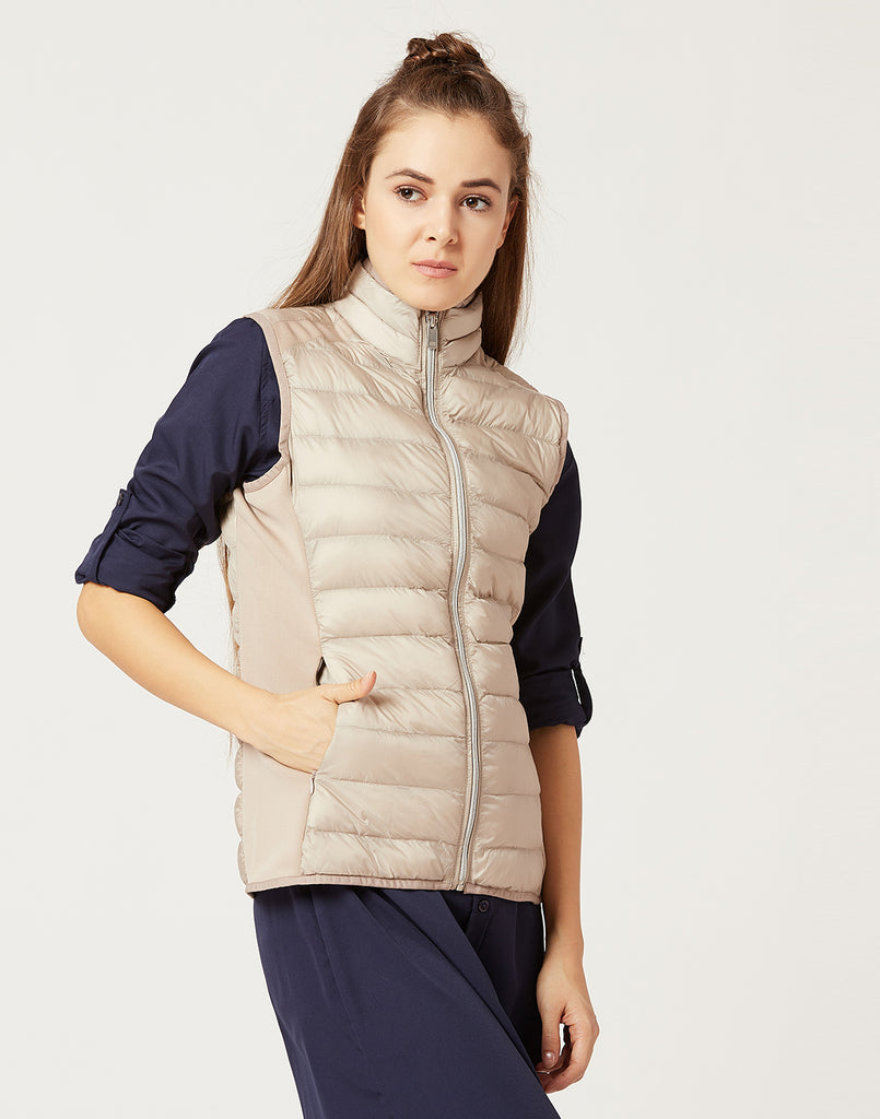 Mettle Women Champagne Beige Jacket