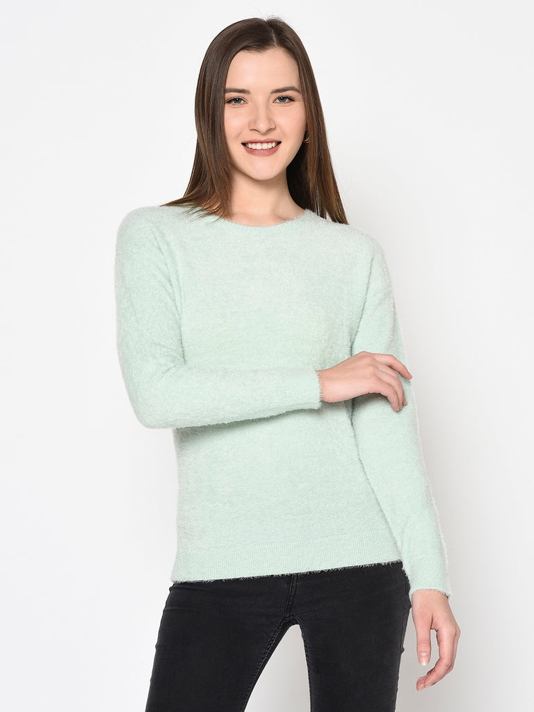 Women's Mint Sweaters