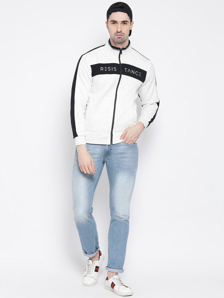 White Sweatshirt for Men by Octave Apparels