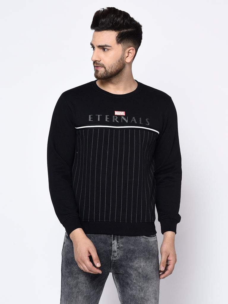 Men's BLACK Sweatshirts
