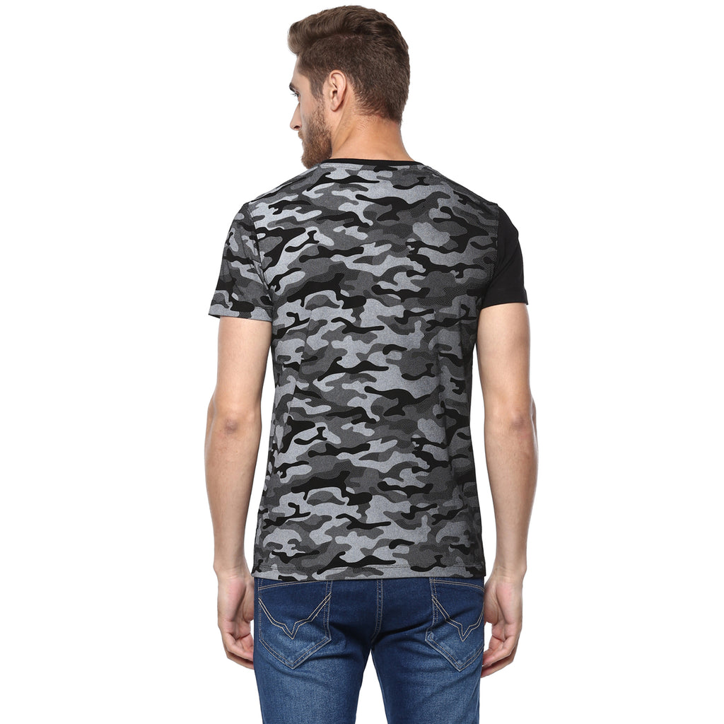Black Military Ombre Tee