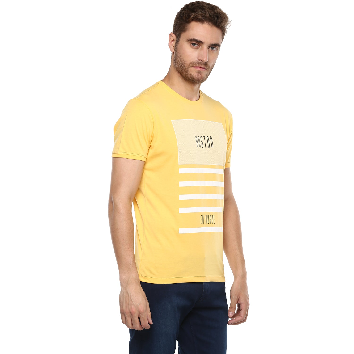 Mango Boston Graphic Tee