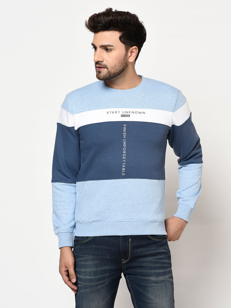Men's Sky Melange Sweatshirt