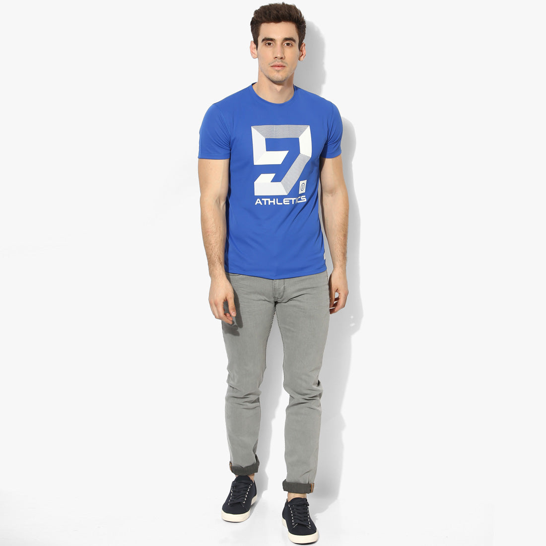 Royal Blue 9 Graphic Tee
