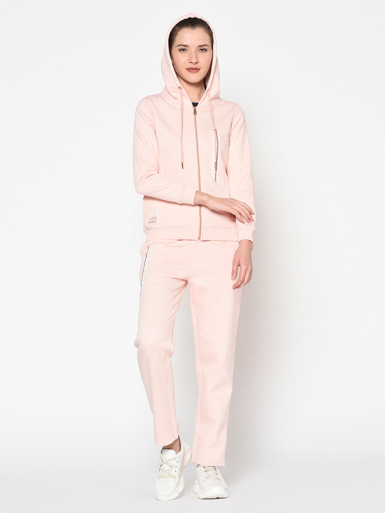 Womens'S DUSTY PINK Tracksuits