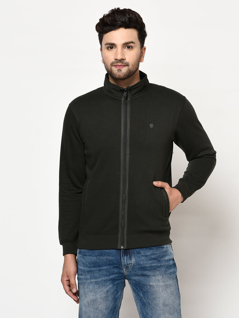 Men's Dark Olive Sweatshirt