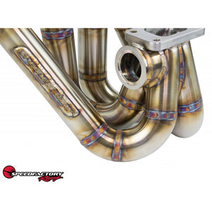 SpeedFactory Racing Top Mount Turbo Manifold