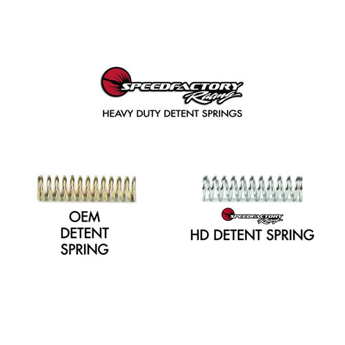 SpeedFactory Heavy Duty Detent Spring Kit