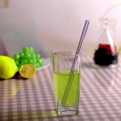 Reusable Glass Straws