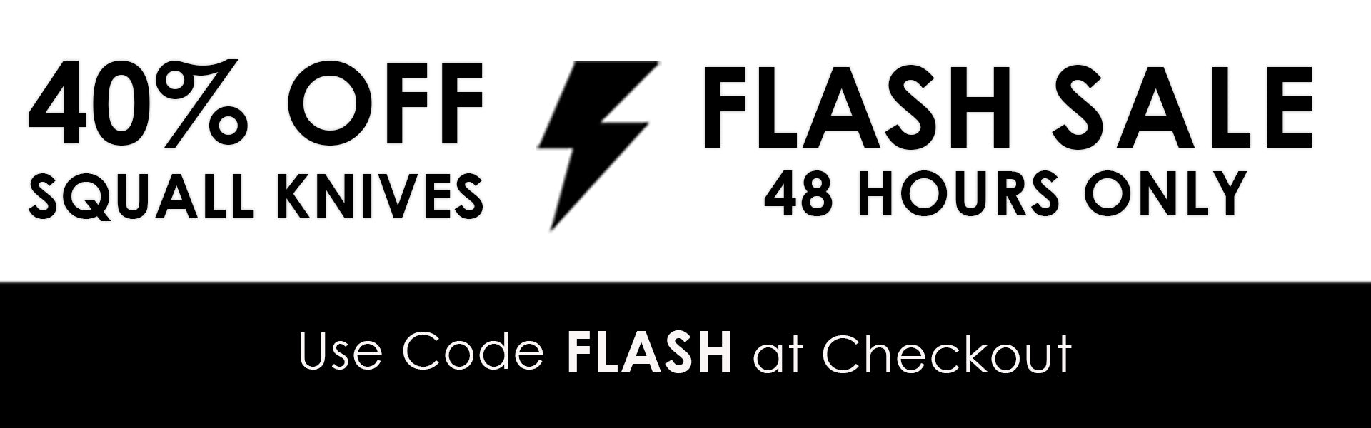48hr Flash Sale