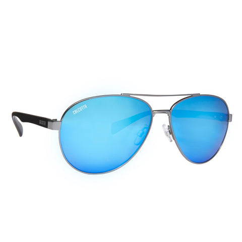 Kodiak Discover Series - Gun Metal/Blue Mirror
